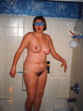 Pic #6 - *TU Debbie's Big Boobs In The Tub