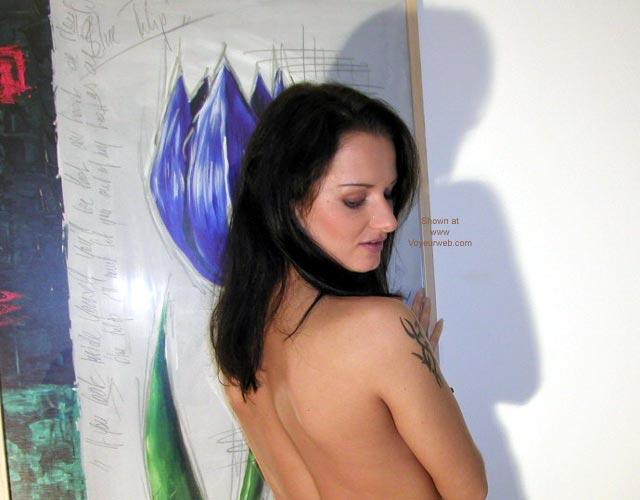 Pic #2 - Naked Girl Strikes Again