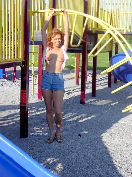 Pic #3 - Fawn Enjoying Fun Play Time