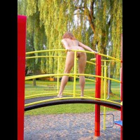 Playing Nude Outdoors - Nude Outdoors