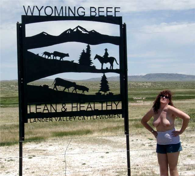 Pic #1 - Misti Along The Highway in Wyoming