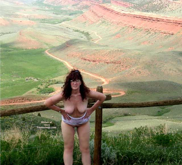 Pic #5 - Misti Along The Highway in Wyoming