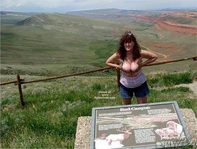 Pic #6 - Misti Along The Highway in Wyoming