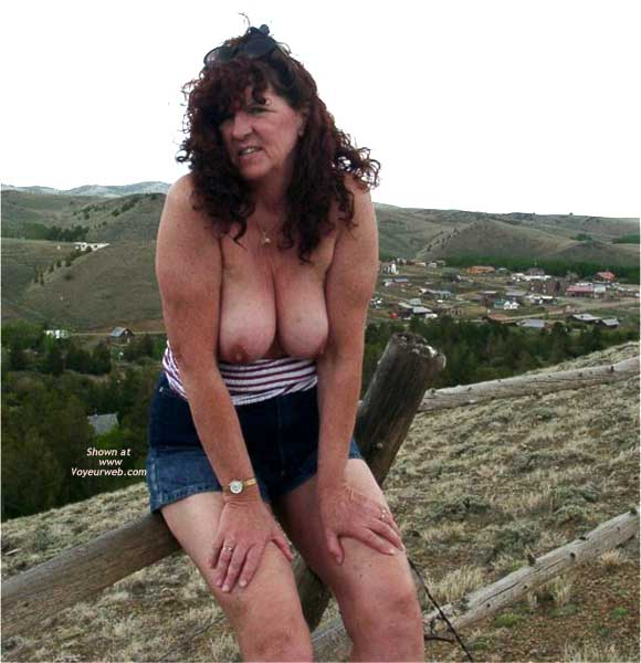 Pic #7 - Misti Along The Highway in Wyoming