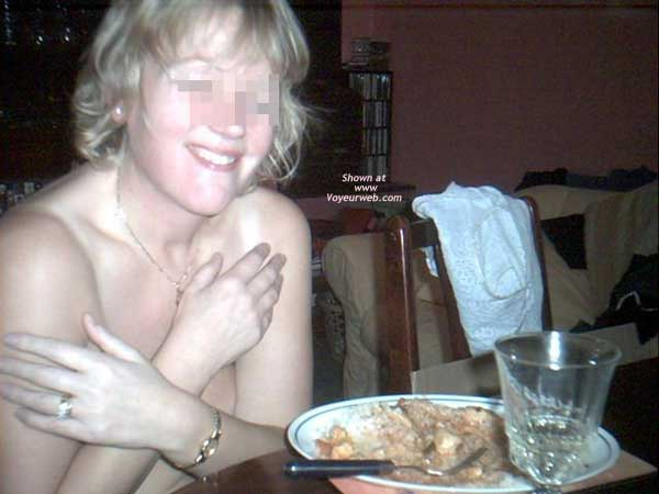 Pic #5 - Wife at Dinner