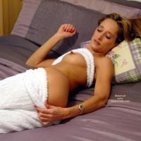 Erected Nipples - Bed, Erect Nipples, Sexy Panties