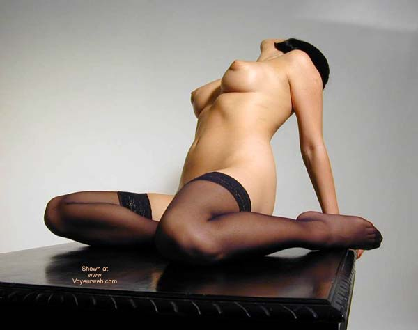 Nude Arched Back Pose