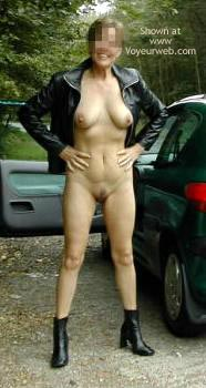 Pic #6 - D.D.46...Leather Jacket and Heels