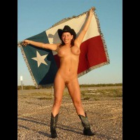 Nude In Cowboy Hat And Boots - Exposed In Public