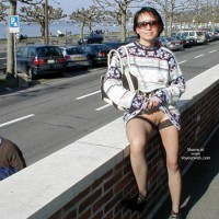 Flashing On A City Street - Sweater