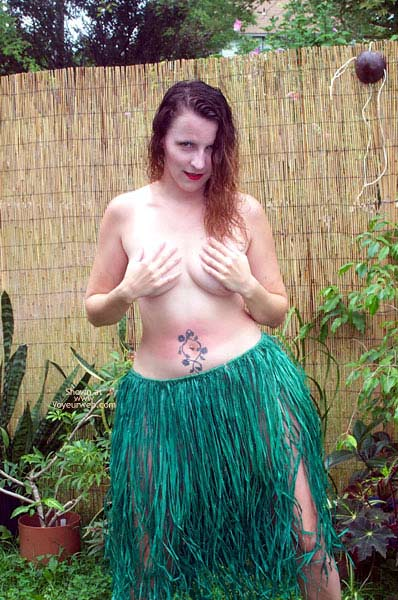 Pic #7 - Grass Skirt and Coconut Bra