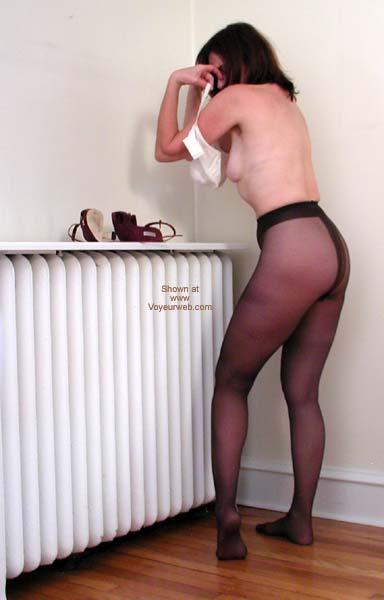 Pic #3 - Laila Pantyhose Strip