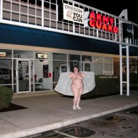 Bbw Naked In A Parking Lot 2