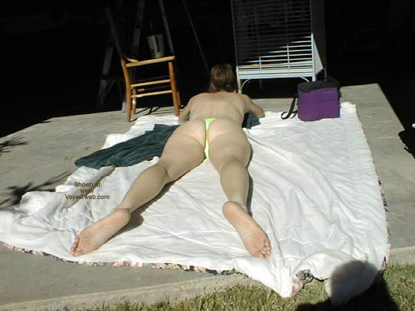 Pic #1 - Lacey Sun Bathing