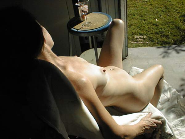 Pic #10 - Lacey Sun Bathing