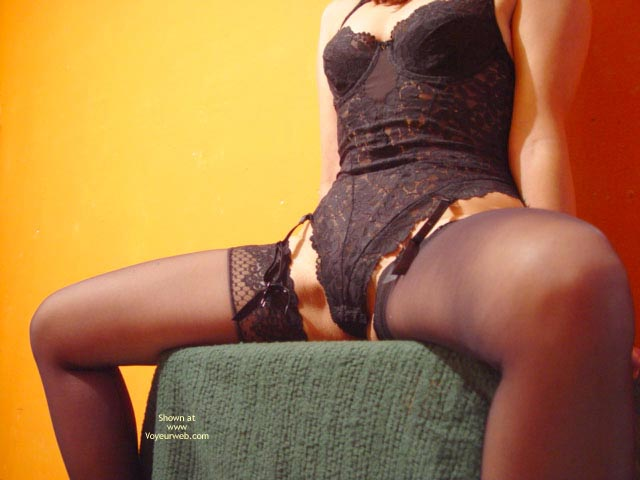 Pic #1 - *Ny Lace Bodysuit And Stockings