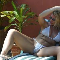 White Bikini At San Pancho Villa
