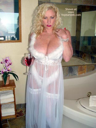 Pic #8 - Nasty Ashley in Her White Corset!