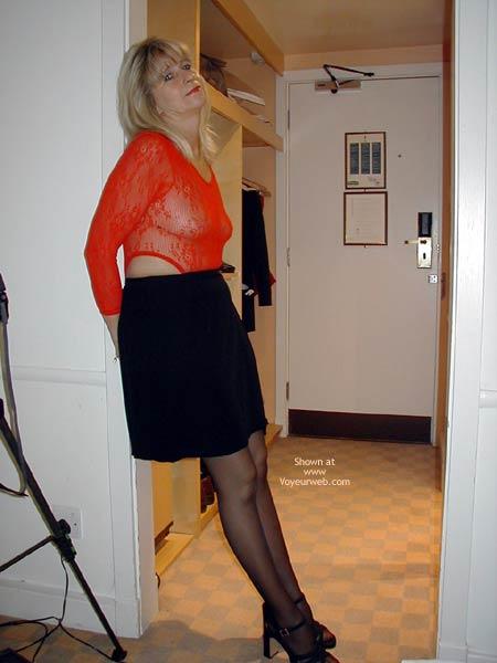 Pic #2 - Karen .. Waitin' For My Man!