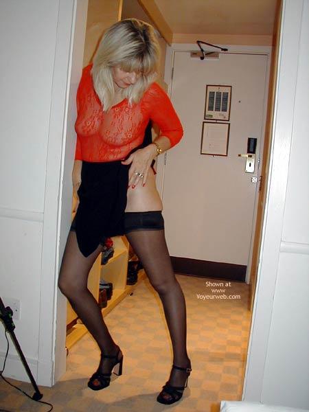 Pic #3 - Karen .. Waitin' For My Man!