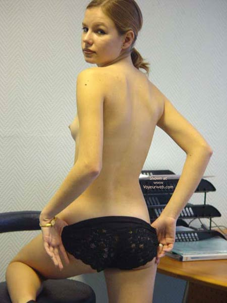 Pic #3 - Strip in Office