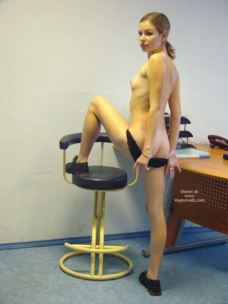 Pic #4 - Strip in Office