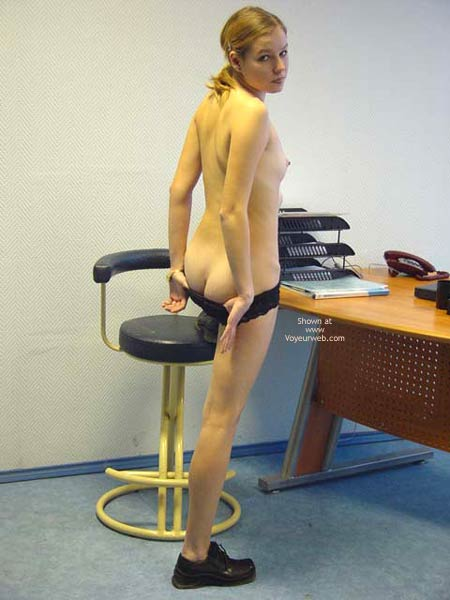 Pic #5 - Strip in Office