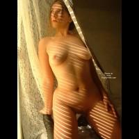 Nude Girl Indoors - Artistic Nude, Full Frontal Nudity, Indoors, Kneeling