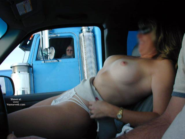 Pic #4 - Candi's Back Flashing Truckers