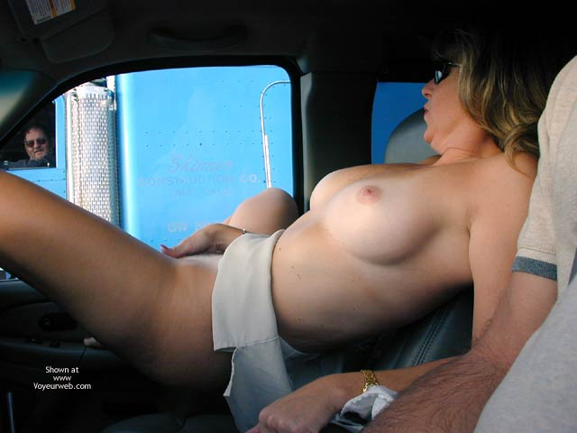 Pic #7 - Candi's Back Flashing Truckers