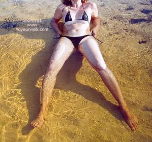 Pic #3 - My Wife in The Beach
