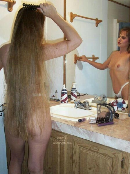 Pic #7 - Amber Getting Ready