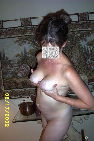 Pic #4 - Hottie Wife Showing Off