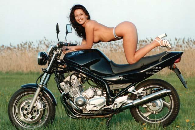 Pic #1 - Denisa With Motobikes