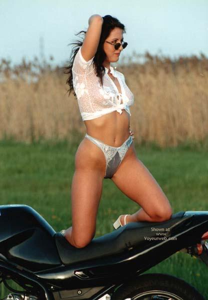 Pic #2 - Denisa With Motobikes