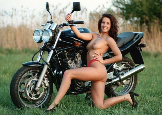 Pic #5 - Denisa With Motobikes