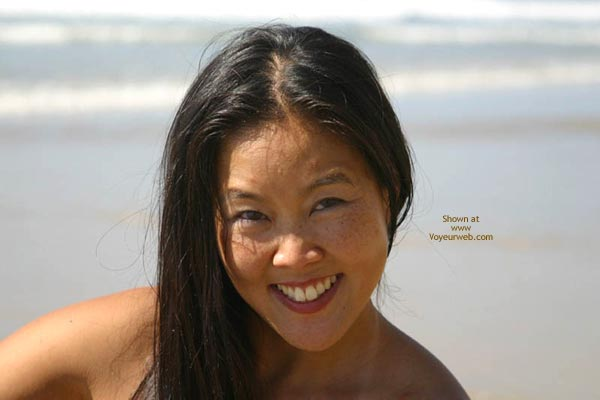 Pic #1 - Asian Lani Nude at The Beach