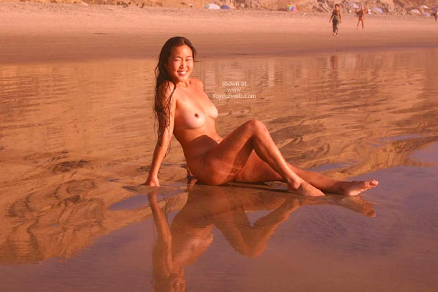 Pic #3 - Asian Lani Nude at The Beach