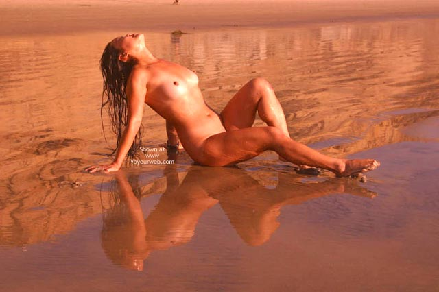 Pic #5 - Asian Lani Nude at The Beach