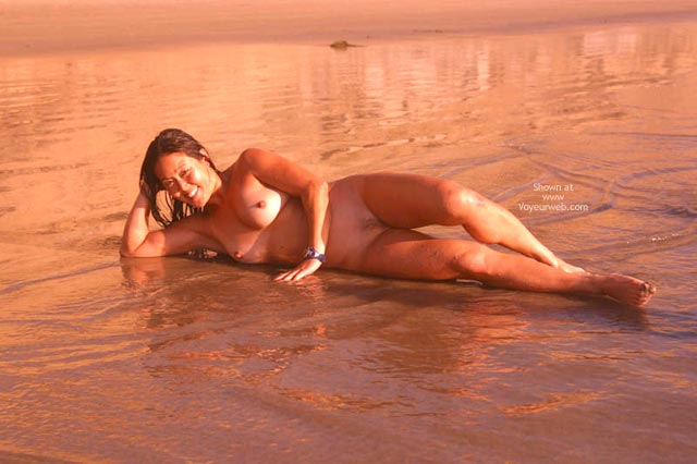 Pic #8 - Asian Lani Nude at The Beach