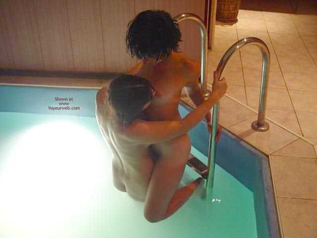 Pic #1 - *GG Kissing in The Pool