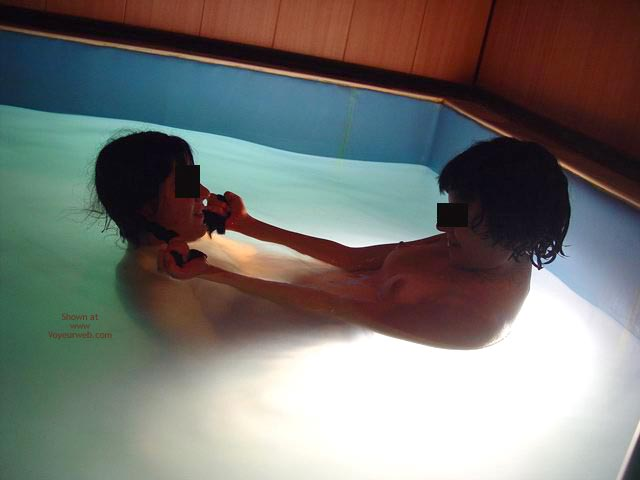 Pic #3 - *GG Kissing in The Pool