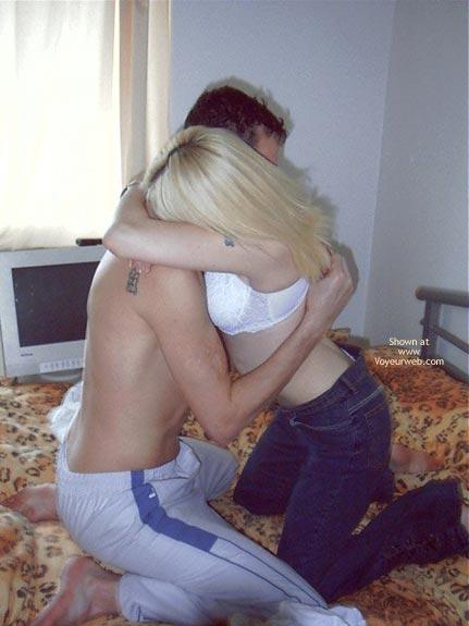 Pic #3 - UK Babe With Boyfriend