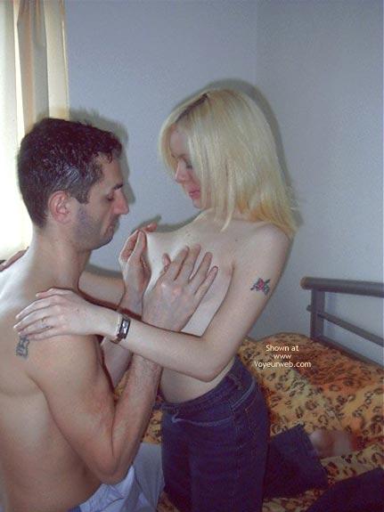 Pic #4 - UK Babe With Boyfriend