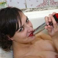 Stacy Masturbation In Bathroom