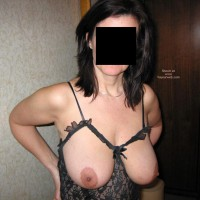 34DD Girlfriend After a Night on The Town