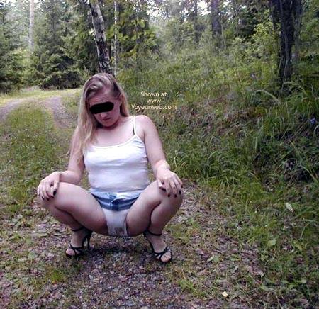 Pic #1 - Linda From Sweden in Wet Panties