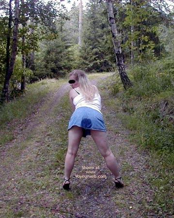 Pic #4 - Linda From Sweden in Wet Panties