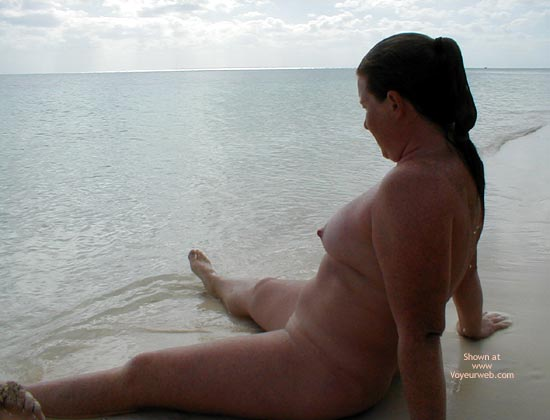 Pic #8 - Redhead From Seattle in The Bahamas 2