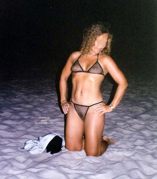 Pic #2 - Catti Striptease On The Beach 2  Color!!!